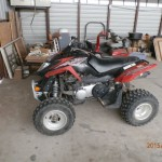 2008 225-Arctic Cat 4-wheeler